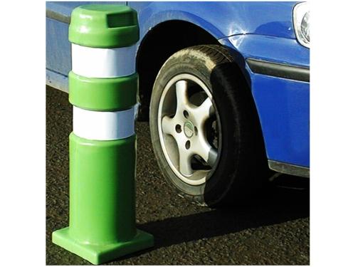 Sturdy Road Safety Pole