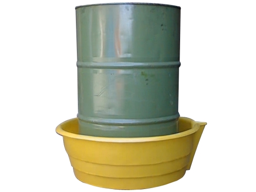 Sturdy Drums Up Spill Tray