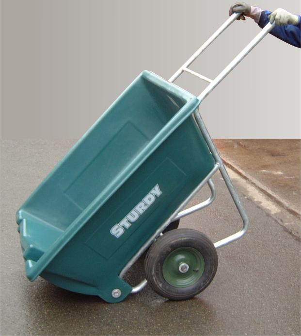 Sturdy Garden Tipping Wheelbarrow